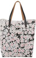 Marni Floral Tote - Lyst