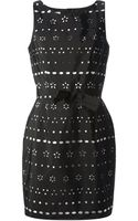 Moschino Cheap & Chic Cut-out Design Dress - Lyst