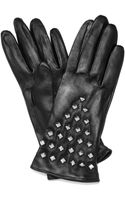 Milly Studded Gloves - Lyst