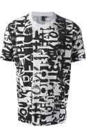 McQ by Alexander McQueen Printed Tshirt - Lyst