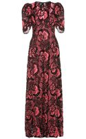 Marc Jacobs Sequinned Lace Gown - Lyst