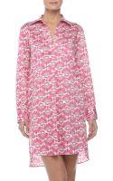 Natori Fleur Shirt Tunic - Lyst