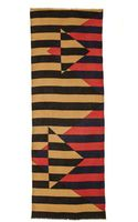 Yarnz Diamond Stripes Scarf - Camel - Lyst