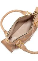 Chloé Marcie Medium Python Shoulder Bag Sand - Lyst