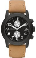 Marc By Marc Jacobs Larry Leather Watch - Lyst