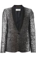 Saint Laurent Blazer - Lyst