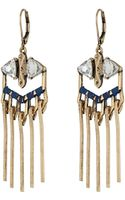 Sam Edelman Interstate Fringe Chandelier Earrings - Lyst