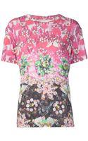Mary Katrantzou Kaleidoscope Print Tshirt - Lyst