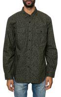 Obey The Harper Ls Buttondown Shirt - Lyst