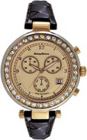 Tommy Bahama Womens Swiss Brown Woven Leather Strap Watch 40mm - Lyst