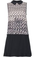 Marc By Marc Jacobs Isa Printed Silk Dress - Lyst