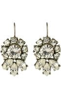 Ben-amun Bridal Crystal Flower Drop Earrings - Lyst