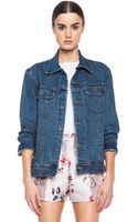 A.P.C. Denim Jacket - Lyst