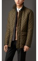 Burberry Military Quilt Field Jacket - Lyst