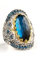 Konstantino London Blue Topaz Ring - Lyst