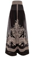 Temperley London Long Girona Skirt - Lyst