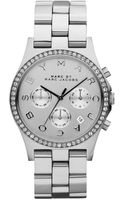 Marc By Marc Jacobs Womens Chronograph Henry Stainless Steel Bracelet Watch 40mm - Lyst