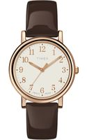 Timex® Originals Classic Mocha Leather Strap - Lyst