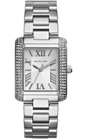 Michael Kors Womens Mini Emery Stainless Steel Bracelet Watch 33x27mm - Lyst