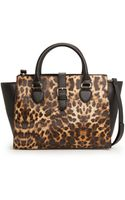 Mango Leopard Tote Bag - Lyst