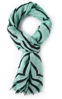 Marc By Marc Jacobs Striped Scarf - Lyst