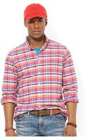 Polo Ralph Lauren Classic Fit Plaid Oxford Shirt - Lyst
