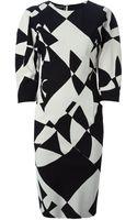 By Malene Birger Teash Printed Dress - Lyst