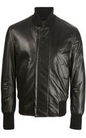 Bottega Veneta Leather Jacket - Lyst