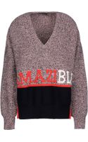 Sonia Rykiel Long Sleeve Sweater - Lyst