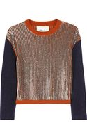 3.1 Phillip Lim Sequinembellished Woolblend Sweater - Lyst