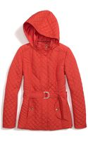 Tommy Hilfiger Hood Quilted Jacket - Lyst