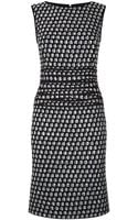 Oscar de la Renta Tweed Sheath Dress - Lyst
