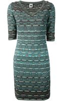 M Missoni Knit Dress - Lyst