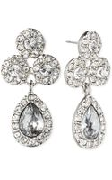 Givenchy Crystal Pear Drop Earrings - Lyst