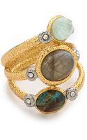 Alexis Bittar Mosaic Crystal Studded Stacking Ring - Lyst