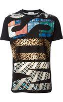 Moschino Logo Print T-shirt - Lyst