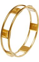 Trina Turk Stud Accented Bangle Bracelet - Lyst