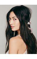 Free People Floral Back Halo - Lyst