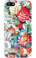 Nasty Gal Field Of Flowers Iphone 5 Case - Lyst