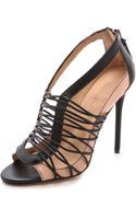 L.a.m.b. Raivyn Strappy Sandals Blacknatural - Lyst