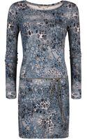 Sandwich Animal Print Dress - Lyst