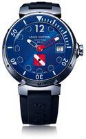 Louis Vuitton Tambour Diving Ii Auto Blue - Lyst