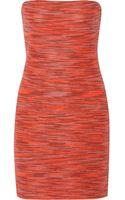 M Missoni Knitted Cottonblend Mini Dress - Lyst