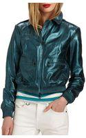 Burberry Brit Statonbury Leather Jacket - Lyst