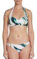 Cosabella Swim Caribe Halter Bikini Top - Lyst