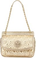 Tory Burch Marion Quilted Metallic Shoulder Bag  - Lyst