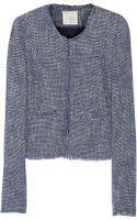 Joie Mardona Cottonblend Tweed Jacket - Lyst