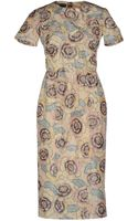 Rochas Kneelength Dress - Lyst