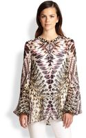 Just Cavalli Animalprint Tunic - Lyst
