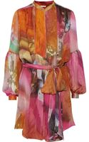 Matthew Williamson Printed Silk Dress - Lyst